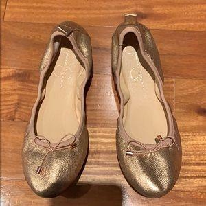 Jessica Simpson Rose gold Ballerina flat shoes